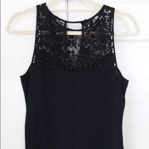 Rebecca Taylor black lace top